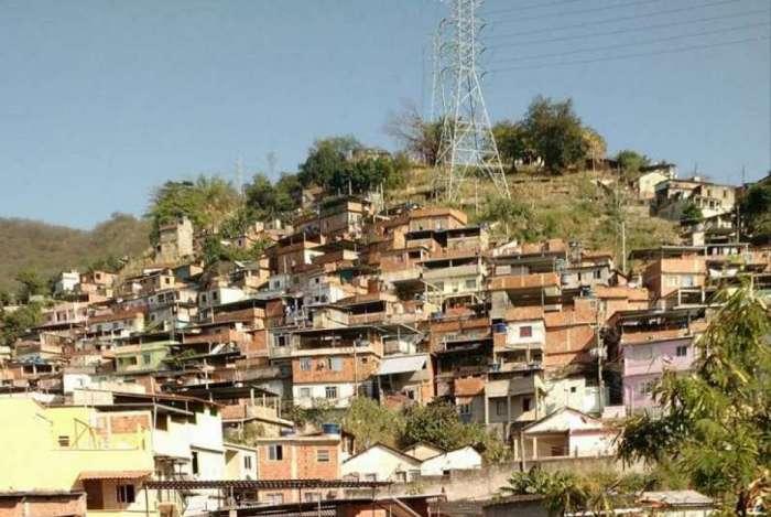 Morro do Juramento, em Vicente de Carvalho