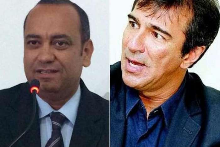 Max Lemos (� esquerda) e Vinicius Farah (� direita)