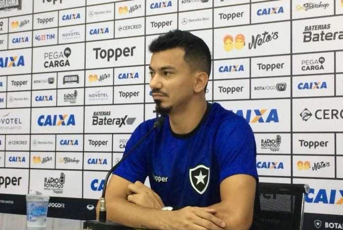 Lindoso mostrou otimismo no Botafogo