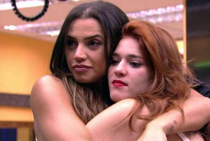 Paula e Ana Clara eram grandes amigas no BBB18