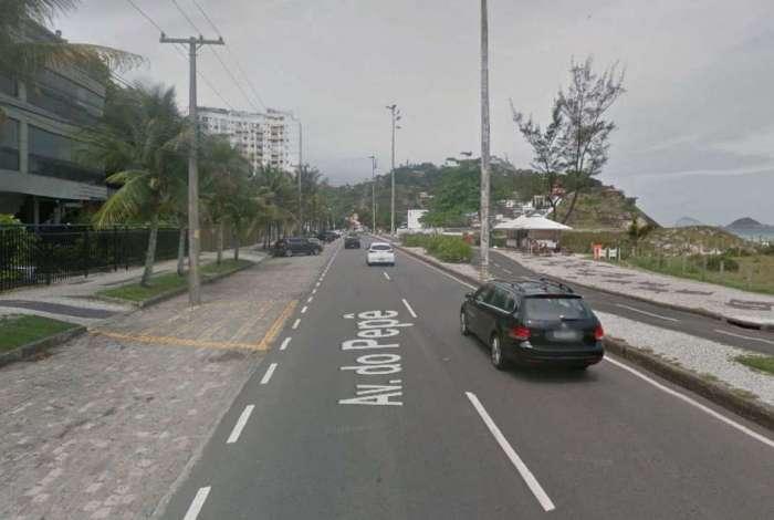 Avenida do Pepê, na Barra da Tijuca