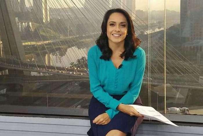 Izabella Camargo, apresentadora do tempo da Globo