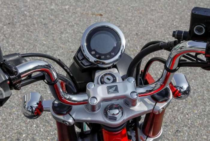 Honda relan�a mini-moto cl�ssica
