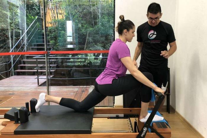 De volta após temporada na Turquia, a ponteira Natália está se recuperando no Centro Dois Andares para tratar lesão no joelho direito