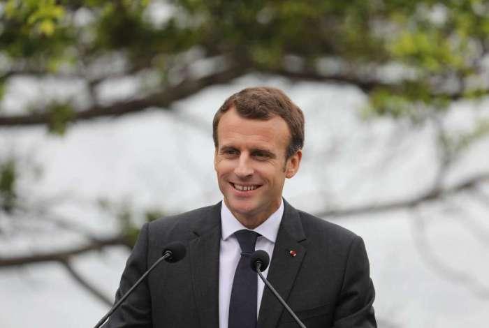 Esposa 'deliciosa': erro de Macron diverte redes sociais