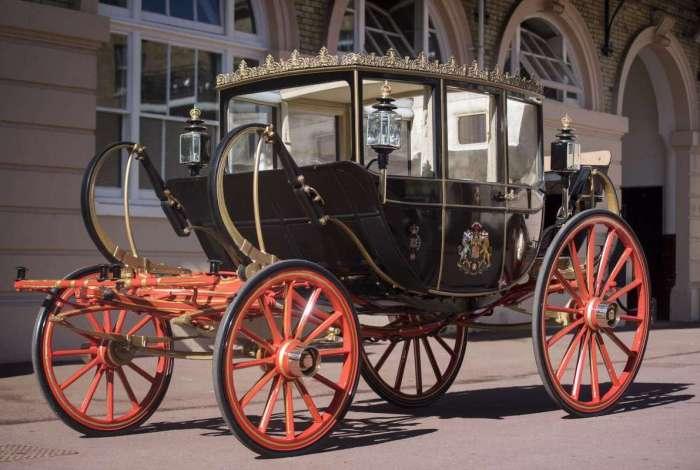 Carruagem escolhida pelo príncipe Harry e Meghan Markle para ser usada na cerimônia do próximo dia 19