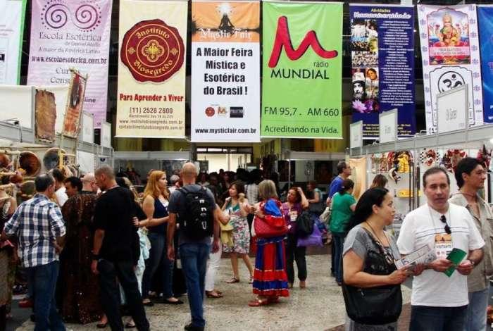 A Mystic Fair Brasil tem lojas esot�ricas, terapeutas, editoras, astr�logos, quiromantes e neurolinguistas