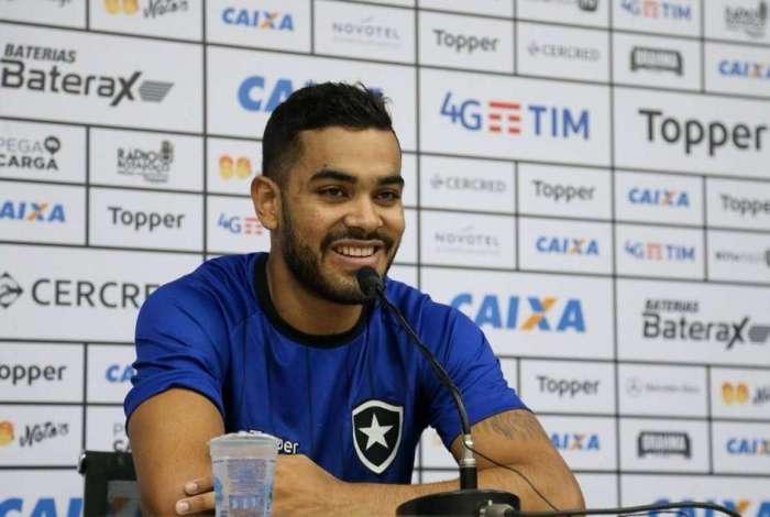 Brenner � o goleador do Botafogo na temporada