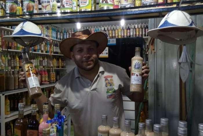 Alexsandro Duarte, da Barraca do Lekinho: 25 sabores de batidas