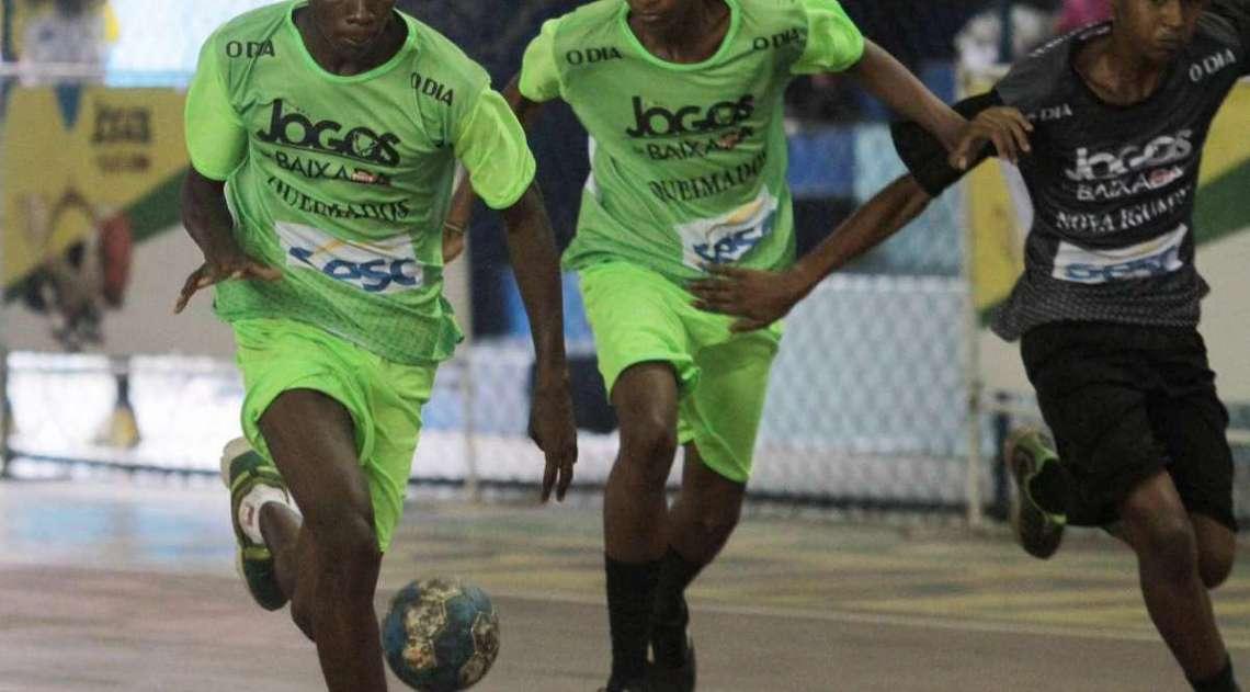 Nova Igua�u conquista ouro no handebol masculino sub-17 nos Jogos da Baixada