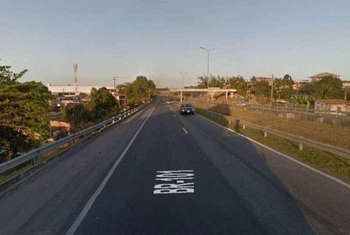 Caso ocorreu na BR-101, na altura de Ita�na, em S�o Gon�alo