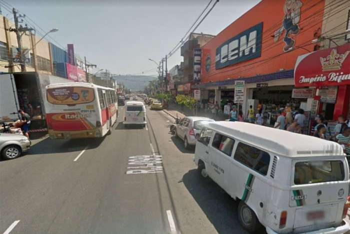 Tiroteio ocorreu na Rua Dr. Curvelo Cavalcante, em Itagua�
