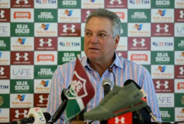 Abel Braga é um ídolo do Fluminense