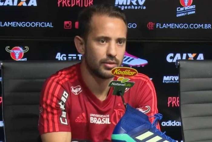Éverton Ribeiro falou sobre momento do Flamengo