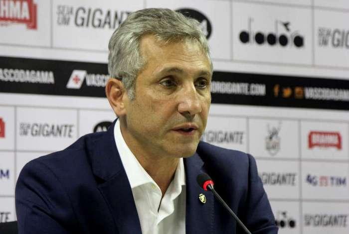 Alexandre Campello é presidente do Vasco