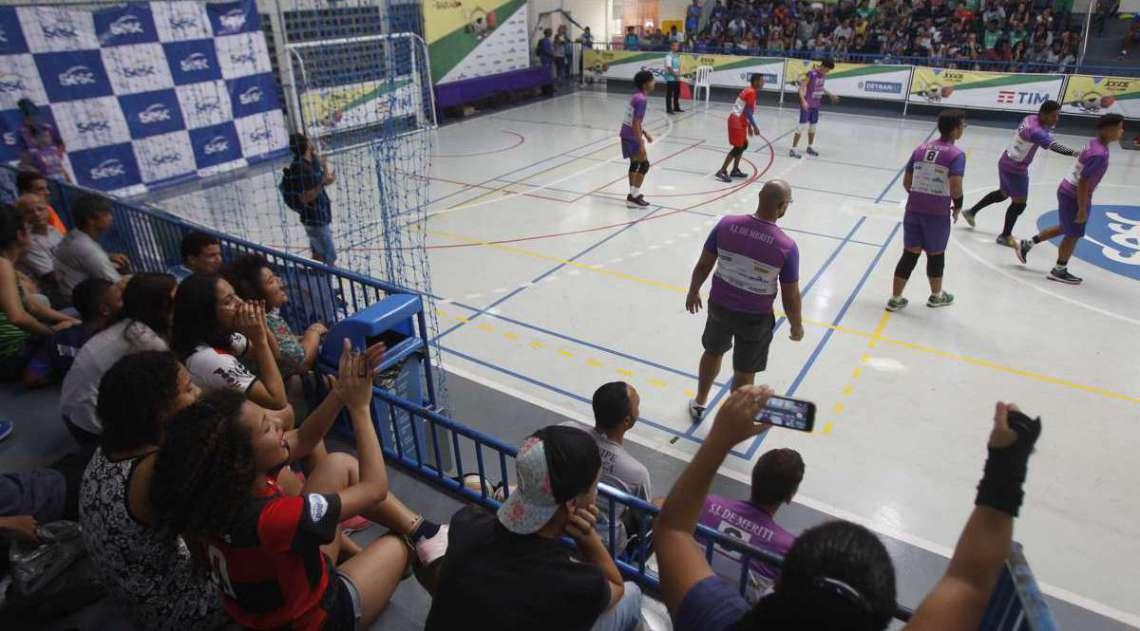 Final  dos jogos da Baixada  vitoria do Nova Igua�u Foto  Severino  Silva Agencia O Dia