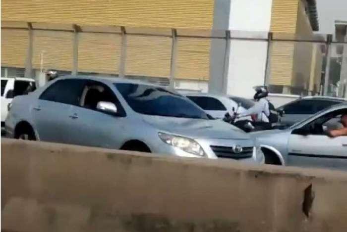 Motoristas voltaram com medo dos disparos