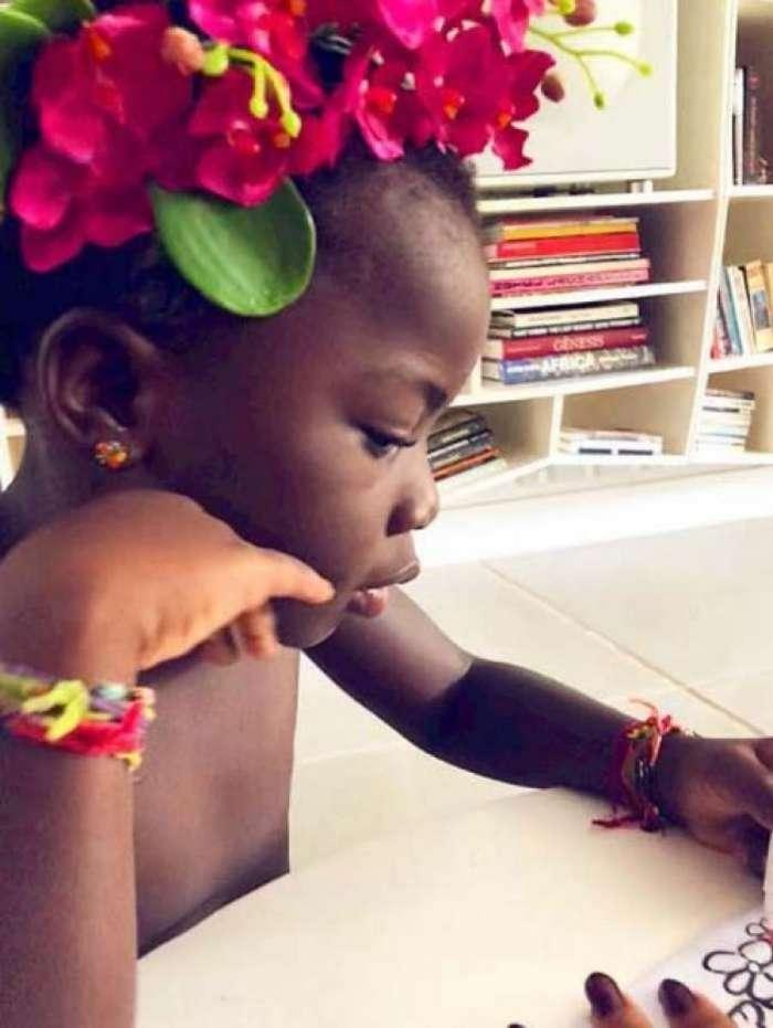 Titi - Reprodu  o Instagram. Rio - Giovanna Ewbank elevou o nível de fofura  nas redes sociais ... 61dc38928cf