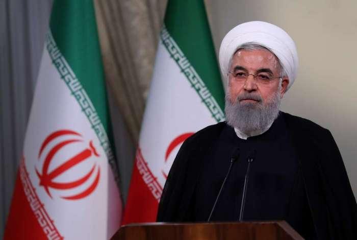 Presidente Rohani, do Irã, chamou de 'guerra psicológica' atitude dos EUA