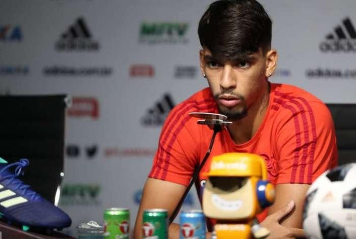 Lucas Paquet� vive grande fase no Flamengo