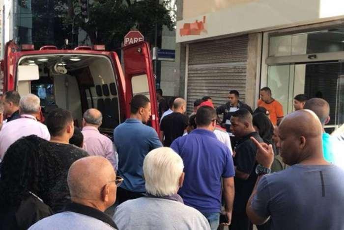 Assalto foi na Rua Visconde de Inhaúma, no Centro