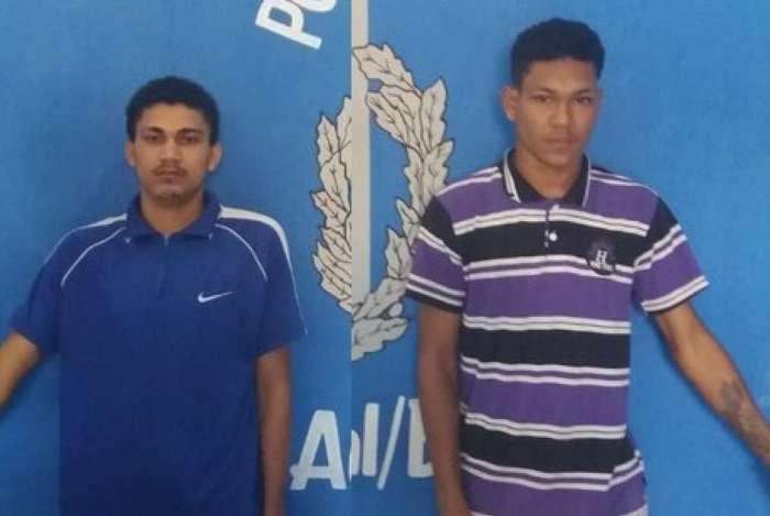 Indiciados por latrocínio, Venício e Reinam estavam com as prisões preventivas decretadas pela Justiça quando foram capturados, na tarde desta quarta-feira