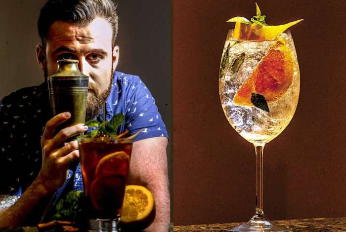 Tai Barbin ensina como fazer dois drinks lindos e saborosos para Coisas da Luisa