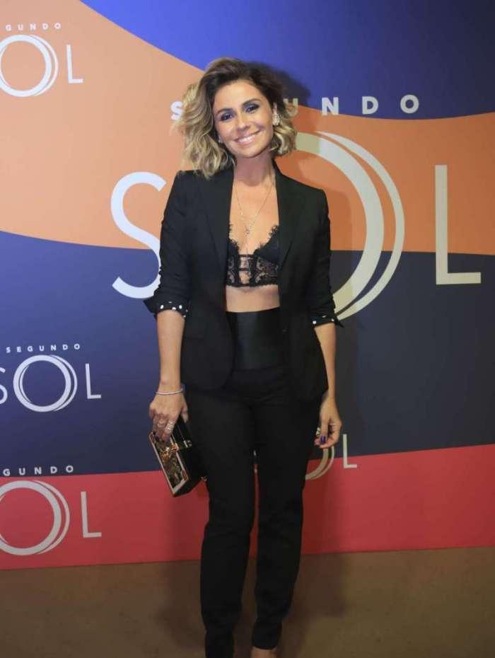Giovanna Antonelli E A Protagonista De Segundo Sol