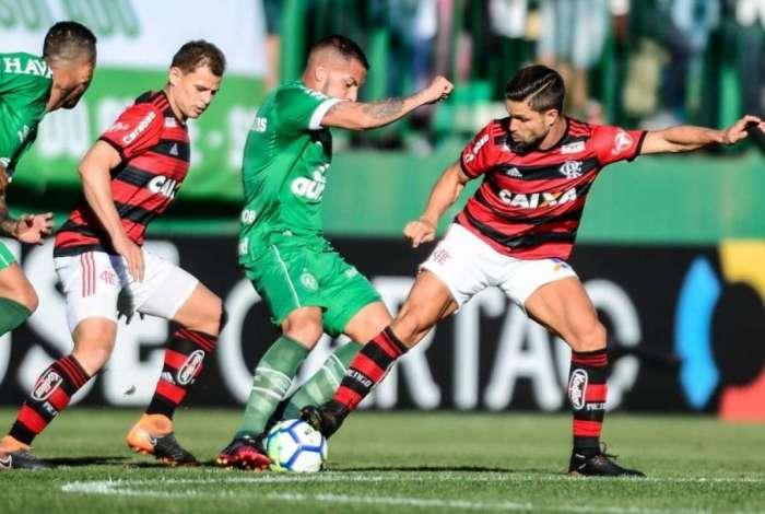 Flamengo foi derrotado para a Chapecoense