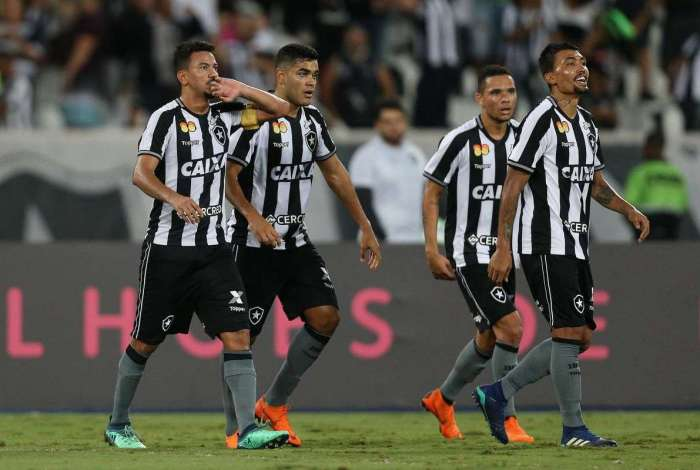 Botafogo x Fluminense pelo Campeonato Brasileiro no Estadio Nilton Santos.  14 de Maio ed932d9ded7cb