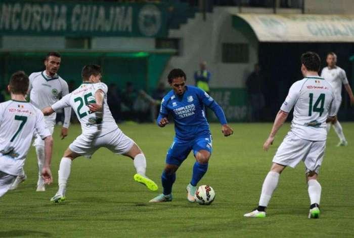 Eric de Oliveira se tornou um �dolo no futebol romeno