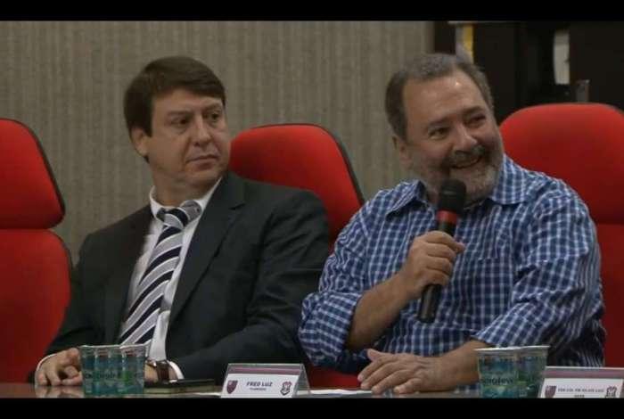 Diretor-geral do Flamengo, Fred Luz pediu a colabora��o dos torcedores