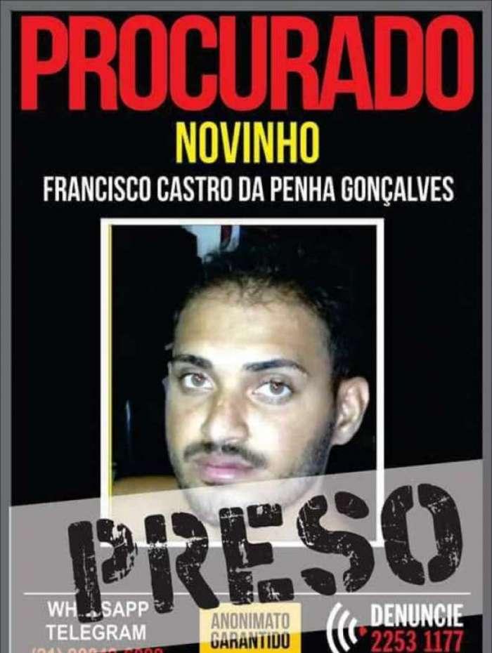 'Novinho', comparsa de Nem da Rocinha, foi preso no S�o Carlos