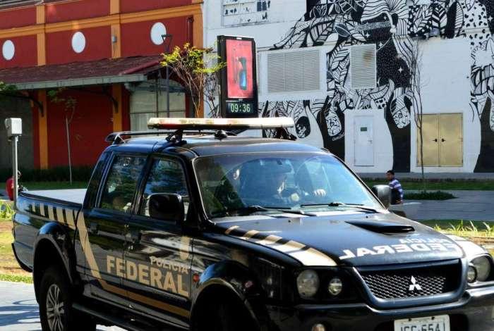 A Polícia Federal deflagrou na manhã desta terça-feira operação Efeito Dominó