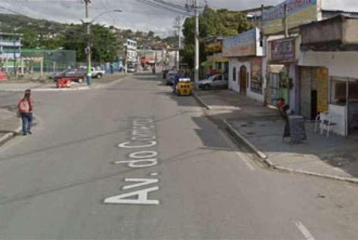 Agente foi abordado por bandidos na Avenida do Comércio