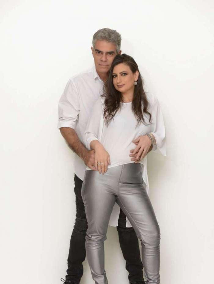 Nizo Neto e Tatiana Presser comemoram Bodas de Safira