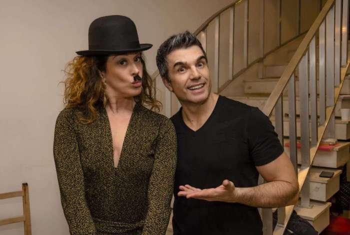 Claudia Raia produz o espet�culo 'Chaplin, o Musical'