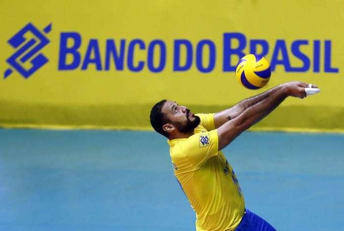 O ponteiro Maurício Borges começa mais uma temporada com a seleção brasileira