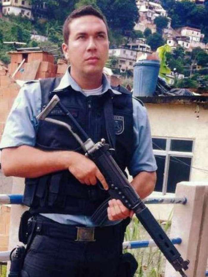 Cabo da Polícia Militar Rafael Silva Estevão