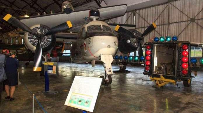 Aeronaves antigas da For�a A�rea Brasileira ficam expostas no museu localizado no Campo dos Afonsos