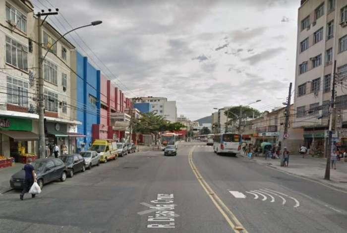 Criminoso foi detido na Rua Dias da Cruz, no Méier