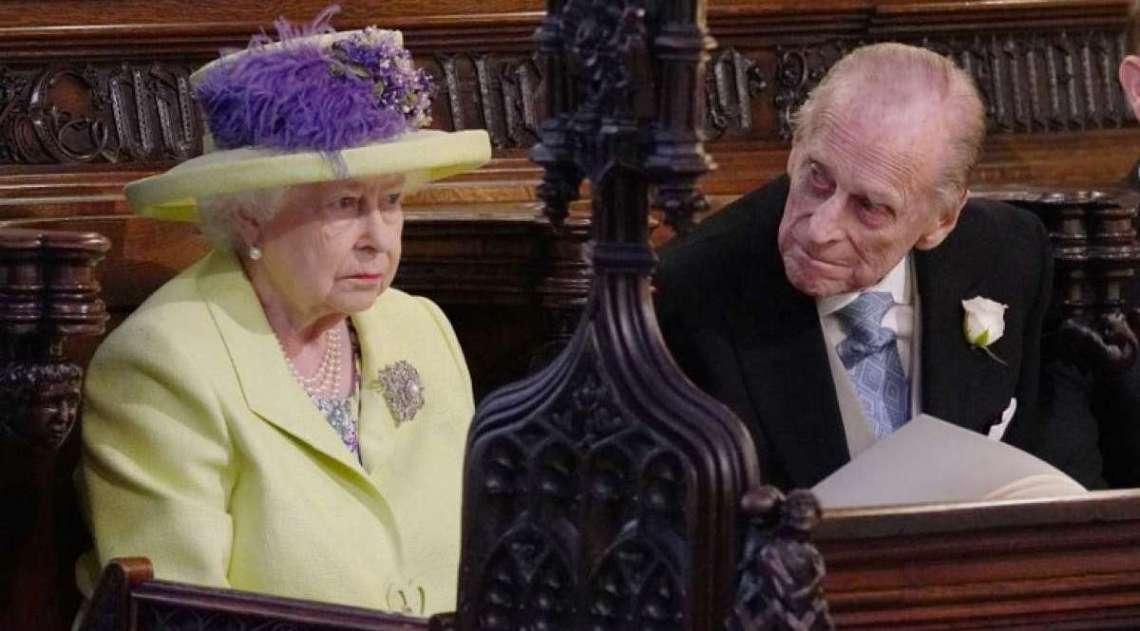 Rainha Elizabeth II e o pr�ncipe Philip, duque de Edinburgh