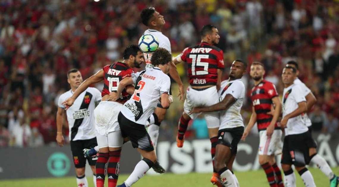 Rio, 19/05/2018. Partida entre Flamengo x Vasco da Gama no Est�dio do Maracan�, v�lida pela 6� Rodada do Campeonato Brasileiro. Foto - Gilvan de Souza / Flamengo