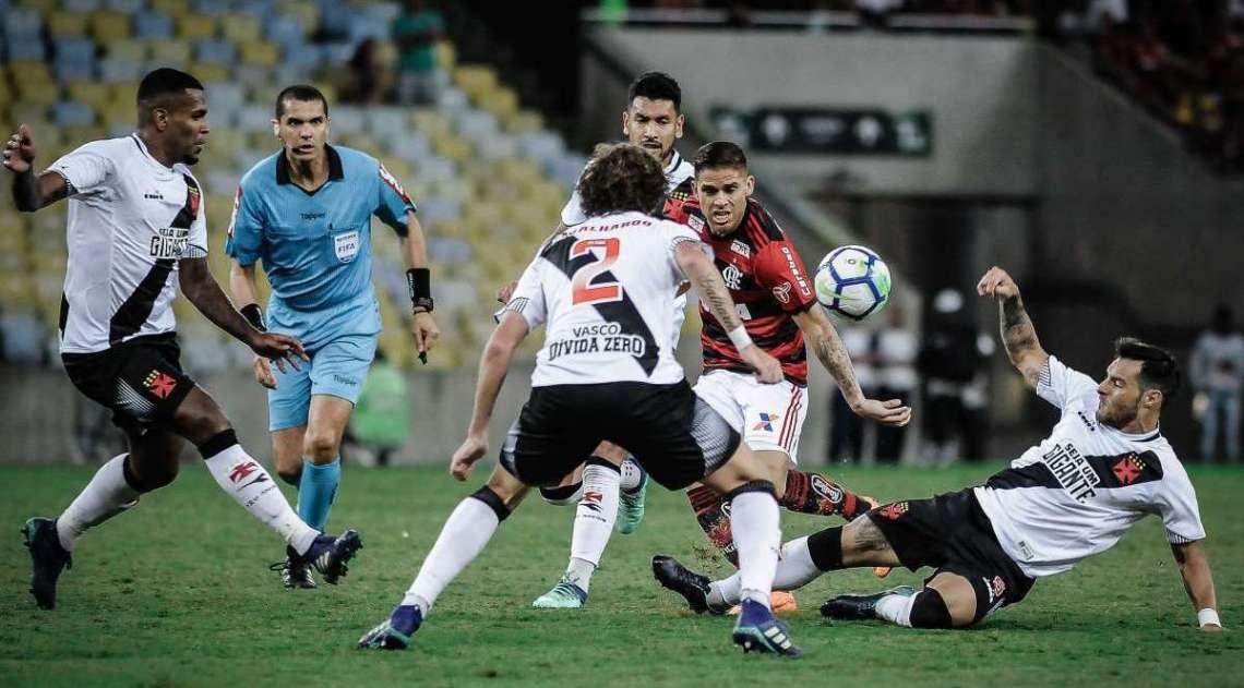 Flamengo e Vasco empataram no Maracanã