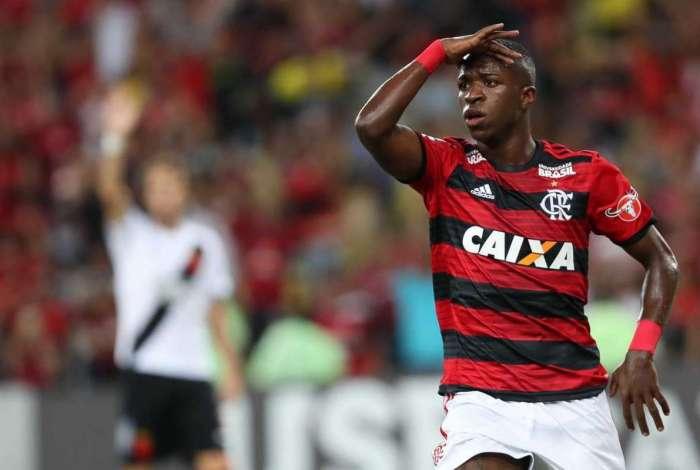 Vinicius Junior pode chegar a Espanha em julho