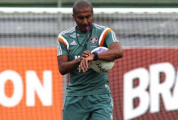 Crist�v�o Borges relembrou o tempo em que treinou o Fluminense