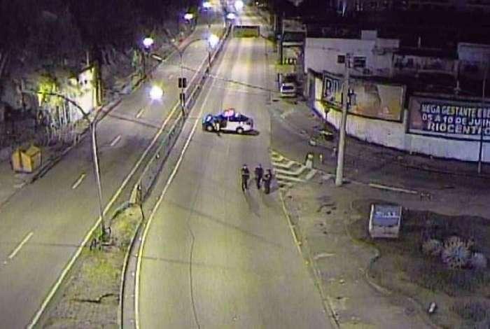Autoestrada Grajaú-Jacarepaguá fechada