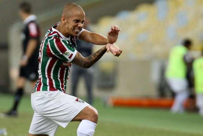 Marcos Junior fez um dos gols do Fluminense