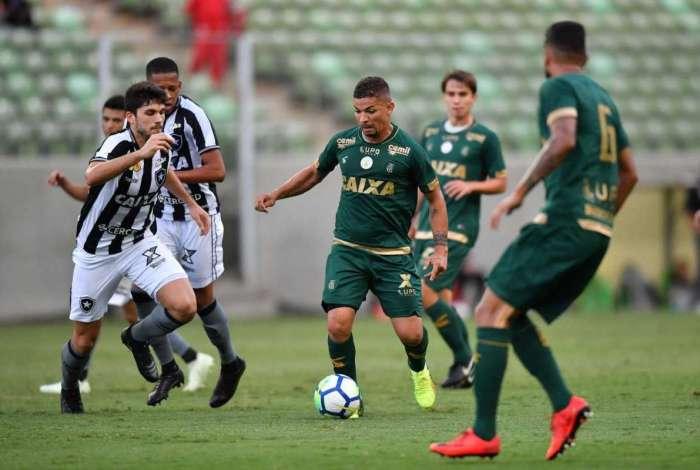 Botafogo foi derrotado pelo América-MG em Minas