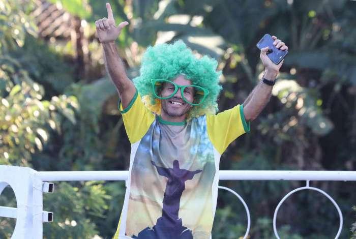 Torcedores brasileiros ainda não mostraram animação com o Mundial da Rússia